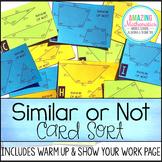 Similar Shapes / Polygons Card Sort