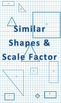 Similar Shapes & Scale Factor Fun Worksheet! by MathNerd | TpT