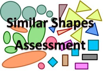 Similar Shapes Unit Assessment
