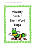 Similar Sight Words Bingo