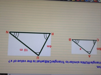 Similar Triangle Flipchart