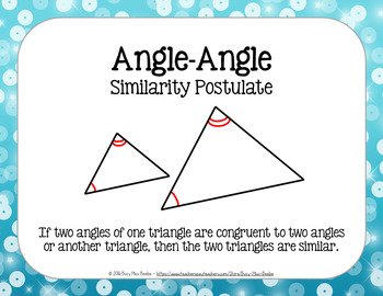 Similar Triangle Posters