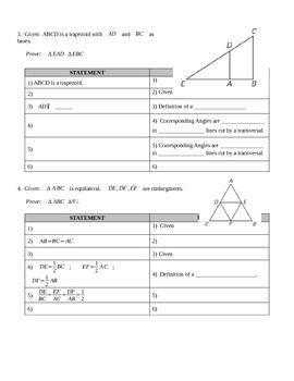 Similar Triangle Proofs