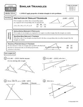 5-2 Similar Triangles