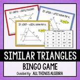 Similar Triangles Bingo Game