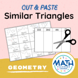 Similar Triangles Activity: Cut and Paste
