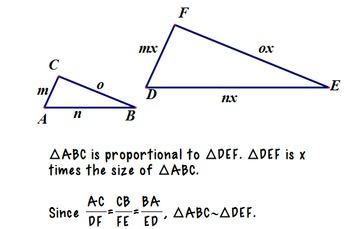 Similar Triangles Foldable