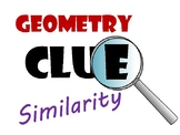 Similar Triangles Geometry Clue Review