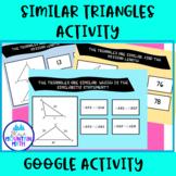 Similar Triangles --Google Slide Activity