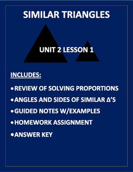 Similar Triangles PDF