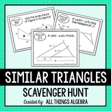 Similar Triangles Scavenger Hunt
