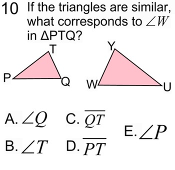 Similar Triangles- Instruction, Student Reference & 11 Assignments for PDF