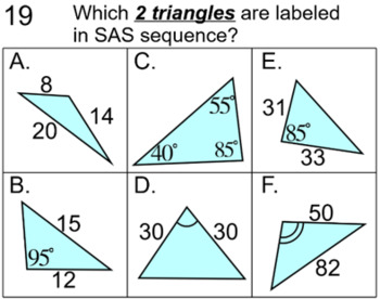 Similar Triangles- Instruction, Student Reference & 11 Assignments for SMART