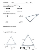 Similar Triangles Test
