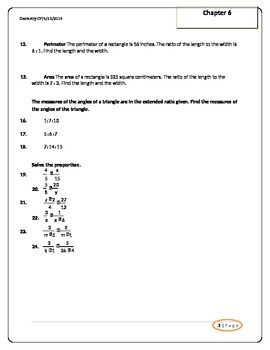 Similar Triangles Unit