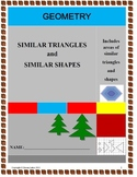 Similar Triangles and Shapes with Assessment and detailed solutions