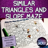 Similar Triangles and Slope Maze