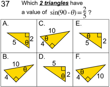 Similar Triangles with Trig, 7 Assignments for PDF and Socrative