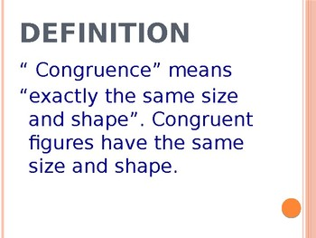 Similar and Congruent