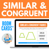 Similar and Congruent Boom Cards™ Digital Activity