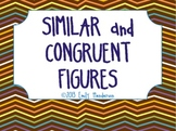 Similar and Congruent Figures Interactive PowerPoint