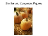 Similar and Congruent Figures - Mr. Swaner