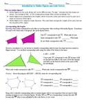 Similar figures Practice Worksheet