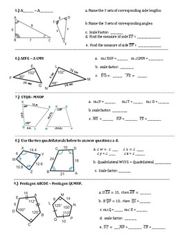 Similar Figures And Scale Factors Introduction And Practice By Math