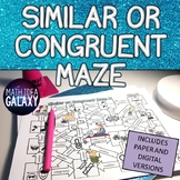 Similar or Congruent Figure Digital Resource