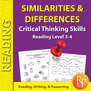 Similarities & Differences: Critical Thinking Skills