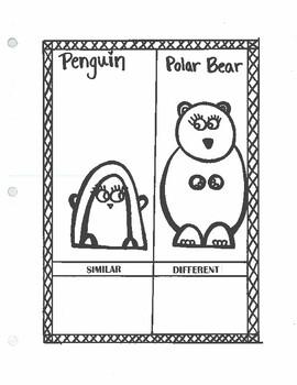 Seasonal Similarities/Differences: Print N' Go!