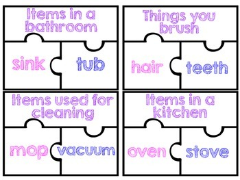 Similarities: Word Relationship Puzzles