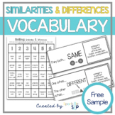 Similarities and Differences | Compare & Contrast Activity