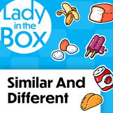 Similarities and Differences with Lola- FREEBIE Boom Cards