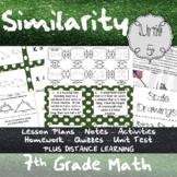 Similarity - (7th Grade Math TEKS 7.5A and 7.5C)