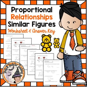 Similar Figures Similarity Applications Proportional Relationships Ratio