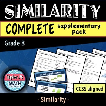 Similarity - Complete Supplementary Pack & Word Wall