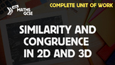 Similarity & Congruence - Complete Unit of Work