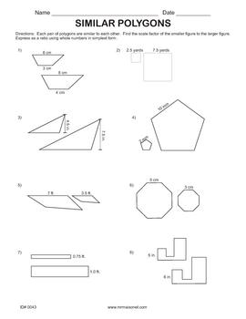 Similarity Homework Packet