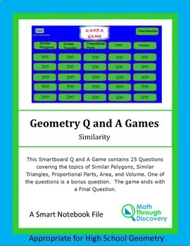 Smartboard Q and A Game - Similarity