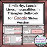 Similarity, Special Lines and Inequalities Bellwork / Do N