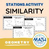 Similarity and Similar Triangles - Stations Activity