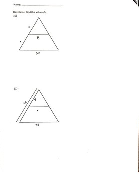 Similarity Test Review