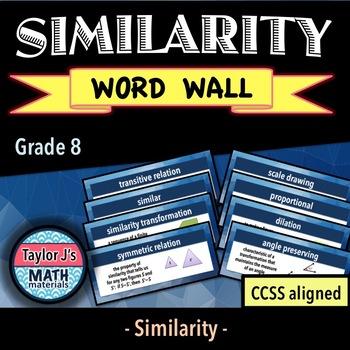 Similarity Word Wall