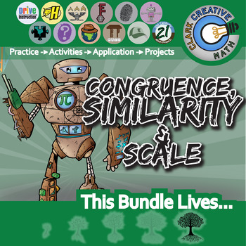 Congruence, Similarity & Proportion -- Activities & Projects -- Unit Bundle