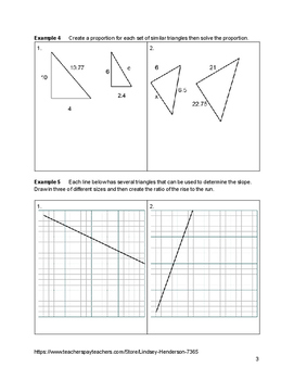 Similarity and Right Triangle Trig Lesson 2 of 3