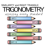 Similarity and Right Triangle Trigonometry - Assessments