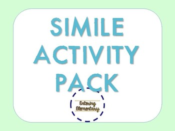 Simile Activity Pack