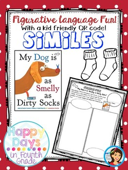Simile Fun - My Dog is as Smelly as Dirty Socks