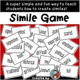 Simile Game - Interactive Lesson to Practice Constructing Similes
